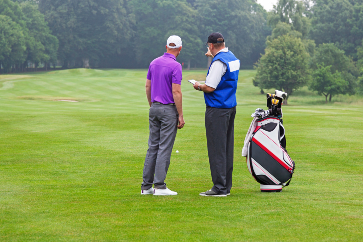 Golf-caddy trading secrets