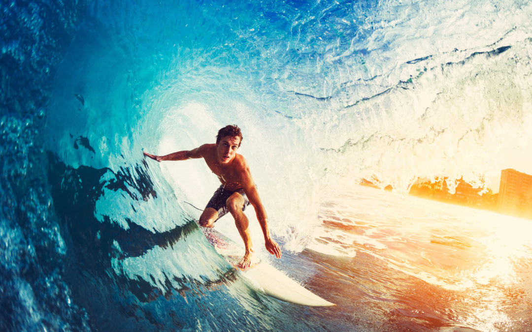 Think like a surfer and get an instant 2-step boost for your trades